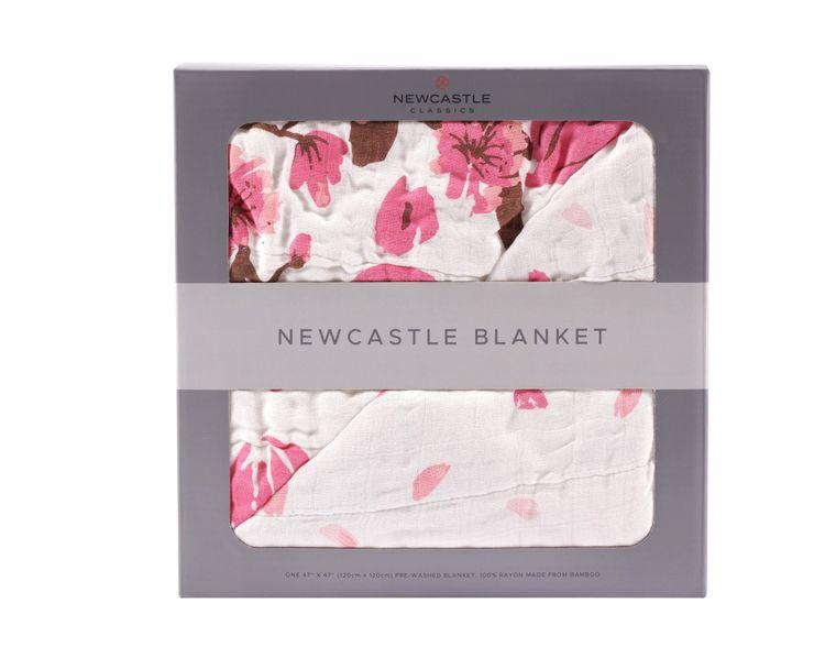 Cherry Blossom Newcastle Blanket