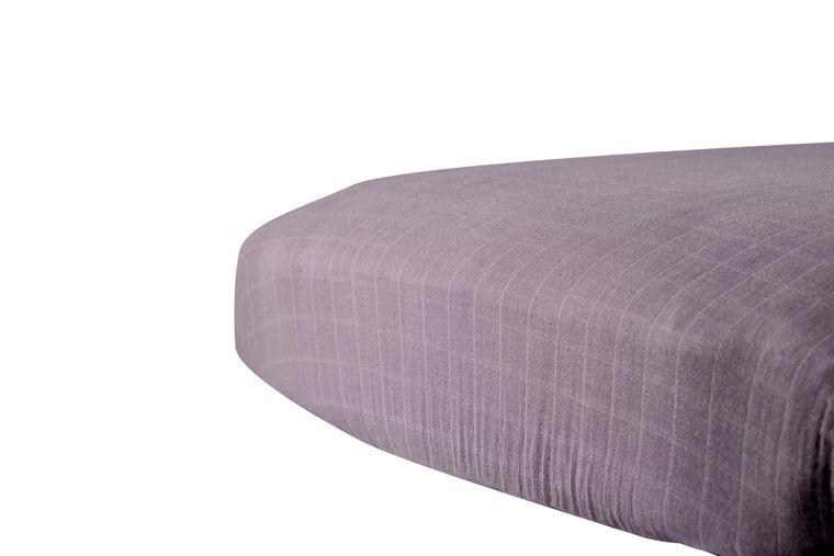 Cool Grey Crib Sheet