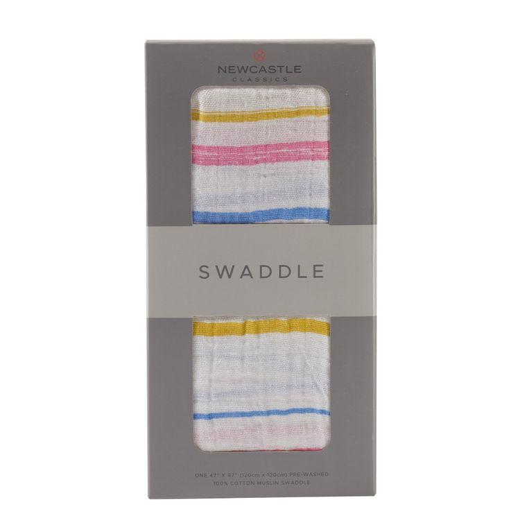 Spring Time Stripe Swaddle