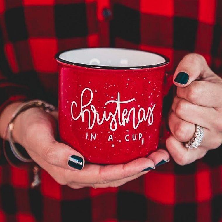 CHRISTMAS IN A CUP | CAMPFIRE COFFEE MUG