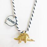 Stegosaurus Dinosaur Necklace