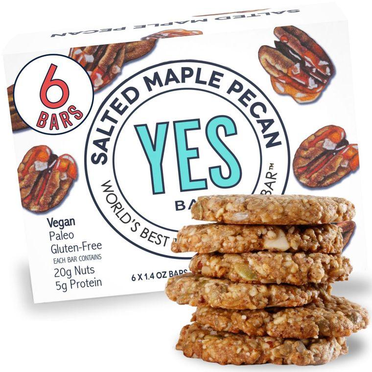 Salted Maple Pecan - (Vegan, Gluten-Free, Low Sugar) - World's Best Tasting Snack Bar®