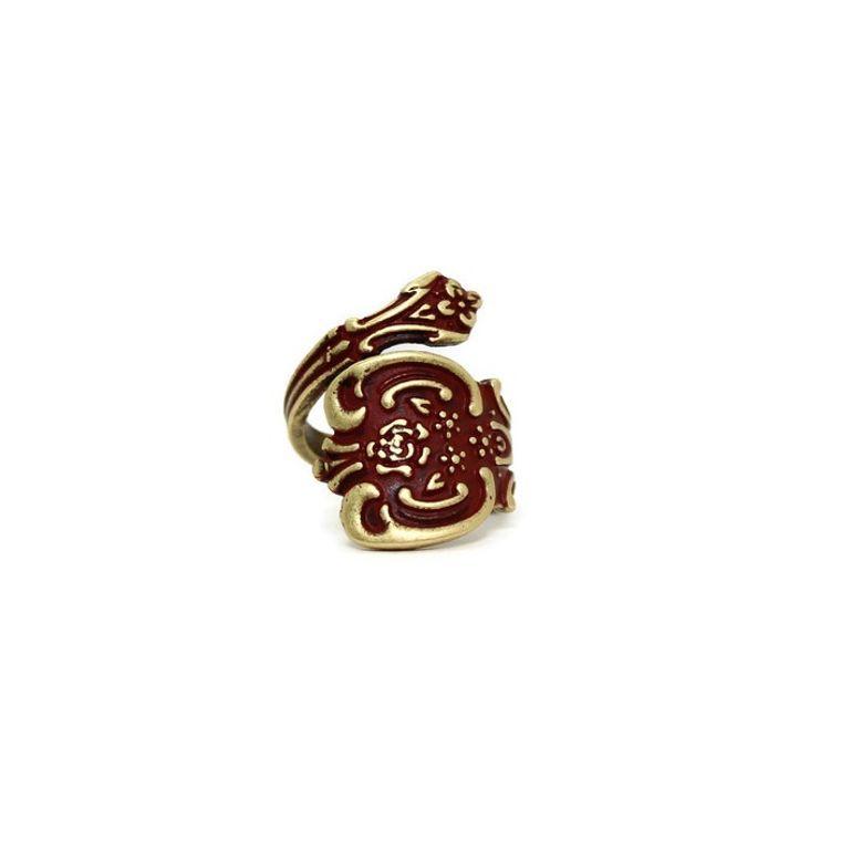 Spoon Ring Bronze