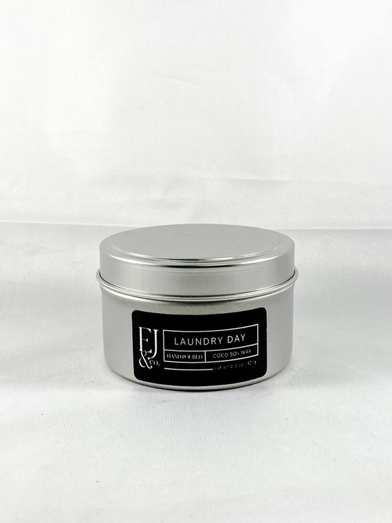 Laundry Day  [4.3 oz soy/coconut wax candle]