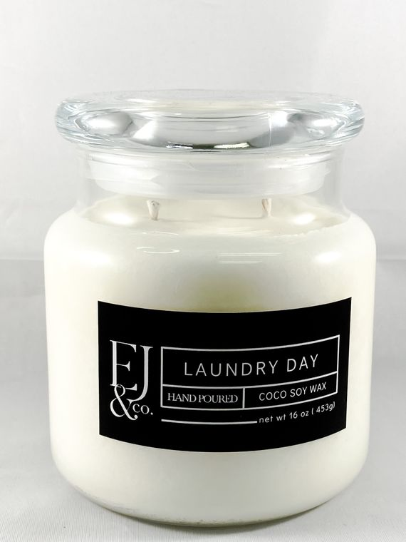 Laundry Day [16 oz soy/coconut wax candle]