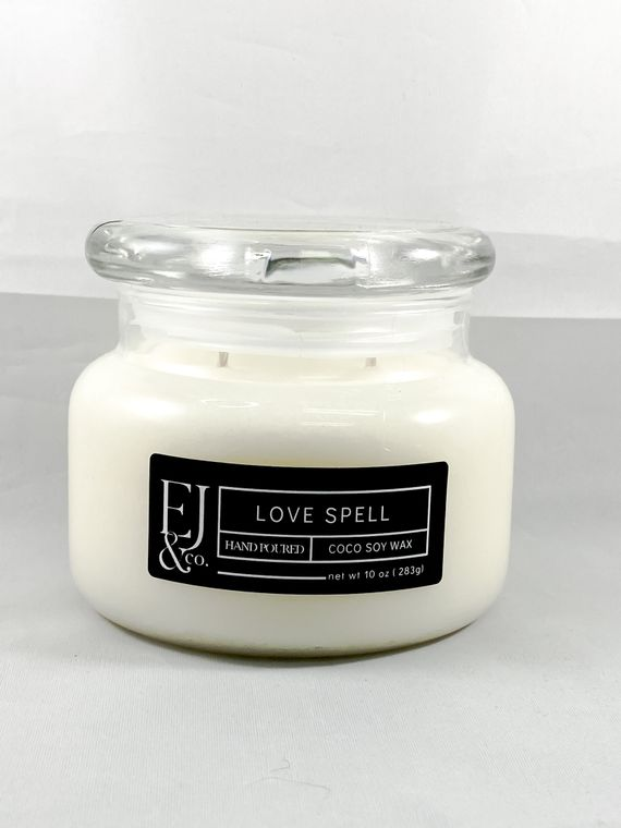 Love Spell [10 oz soy/coconut wax candle]