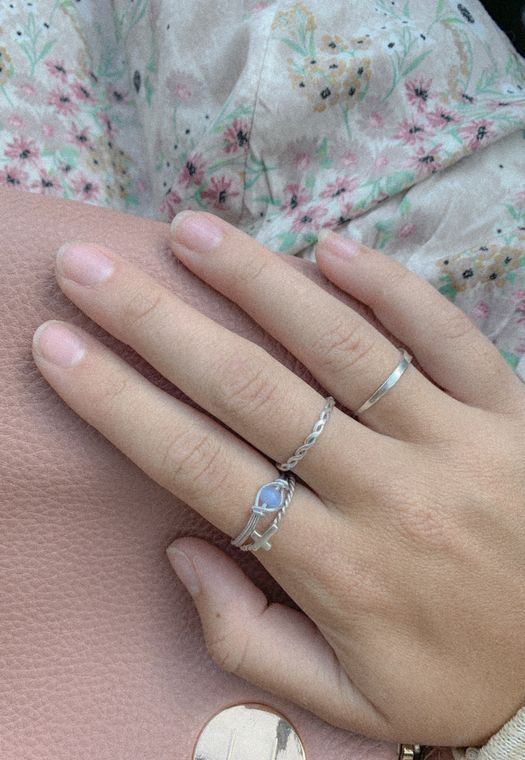Sky Blue Ring