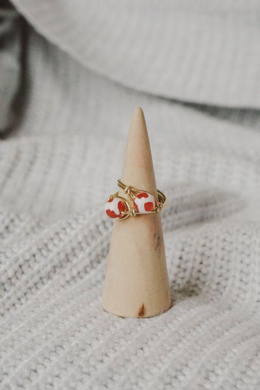 Boho Dalmation Ring