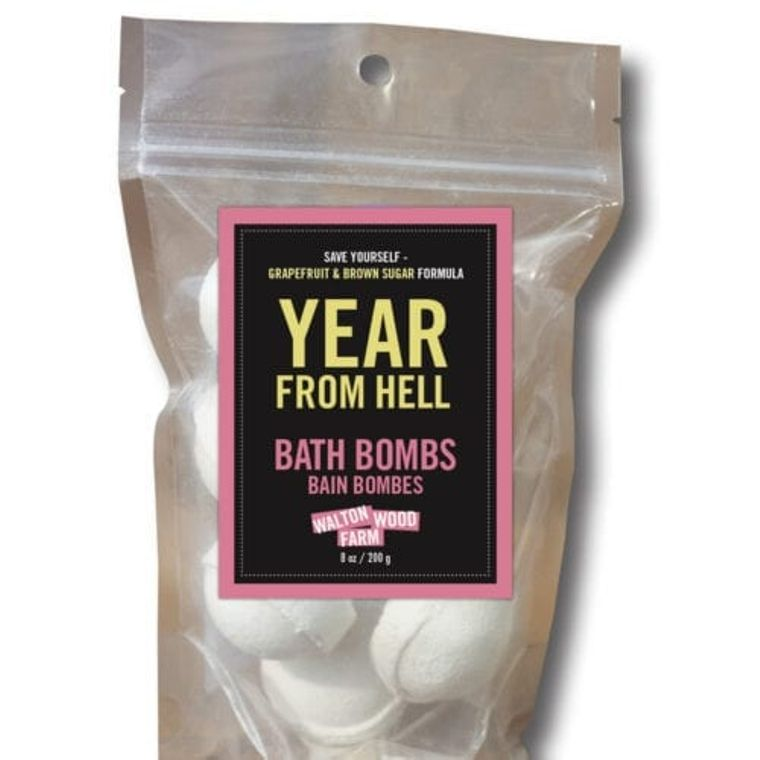 Bath Bomb - Year From Hell 8 oz