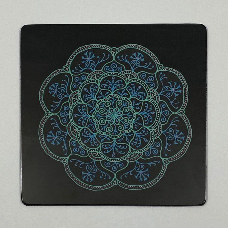 Amaris Mandala Magnet - Square