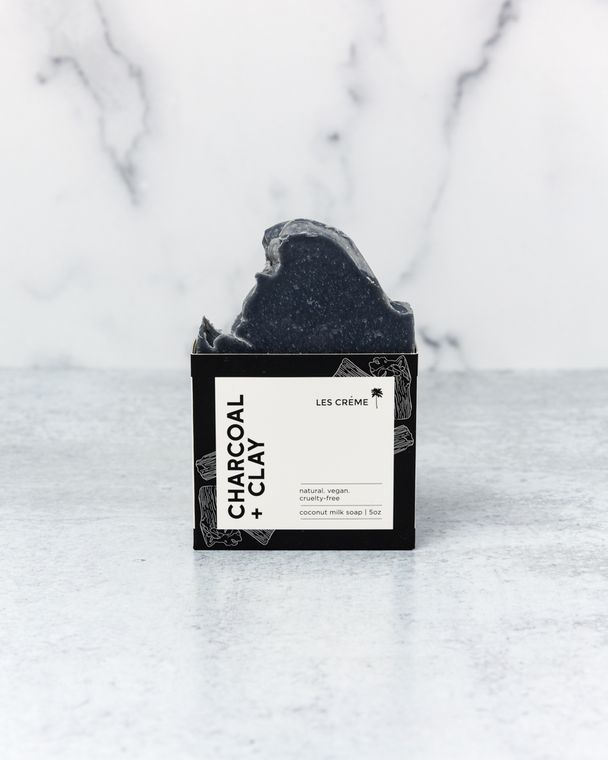 Charcoal + Clay Soap