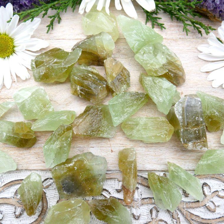 Green Calcite 1/2 Pound