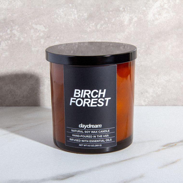 Birch Forest | Soy Jar Candle | Vegan, Cruelty-Free, Eco-Friendly