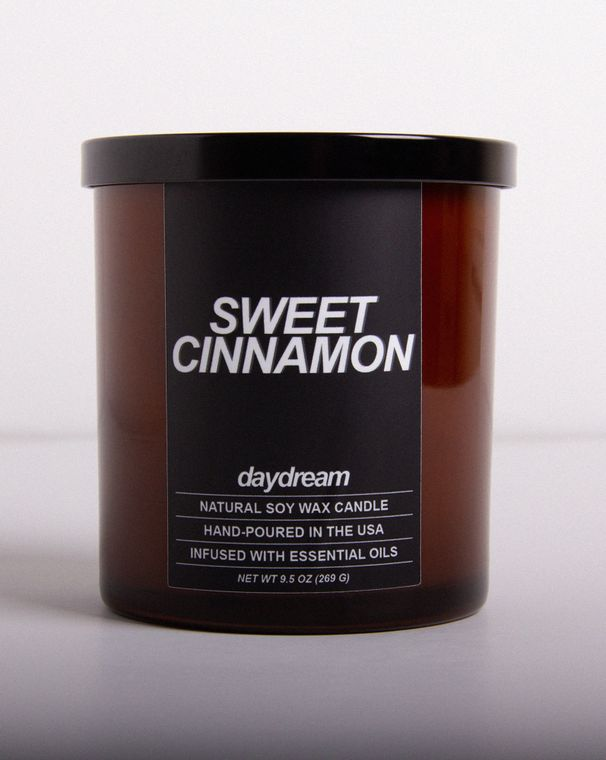 Sweet Cinnamon | Soy Jar Candle | Vegan, Cruelty-Free, Eco-Friendly