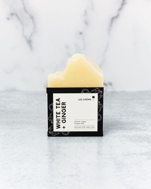 White Tea + Ginger Soap