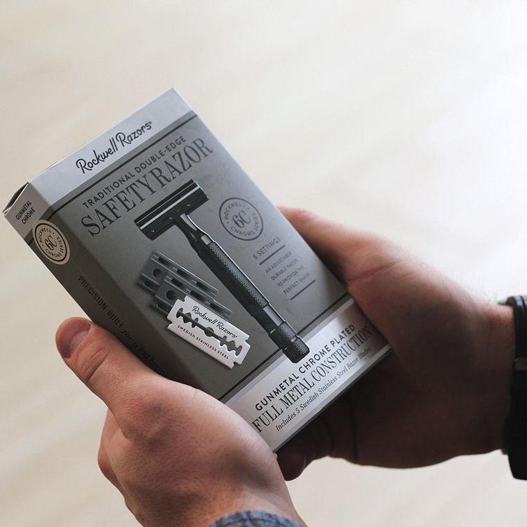 Rockwell 6C - Double Edge Safety Razor