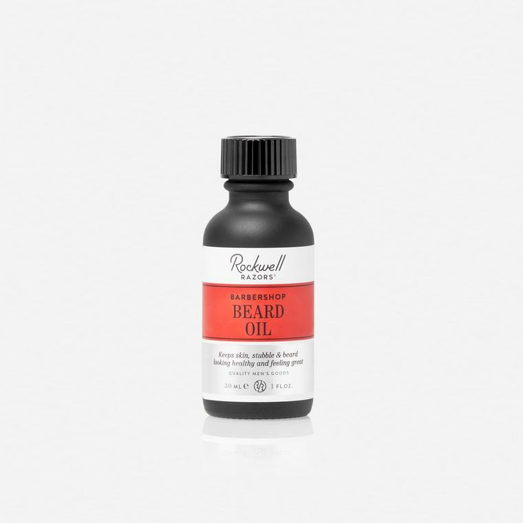 Rockwell Beard Oil - Barbershop Scent
