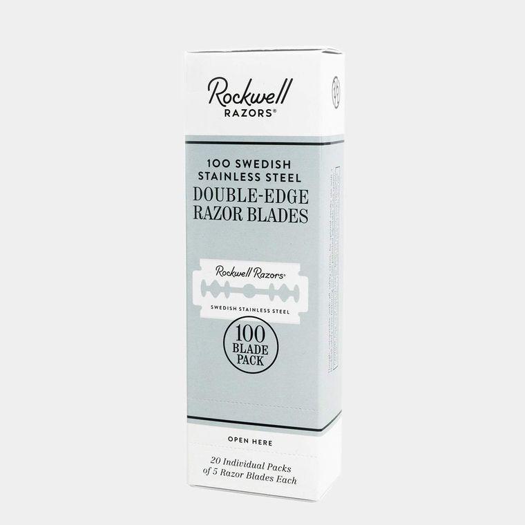 Rockwell Double-Edge Razor Blades (100-Pack)