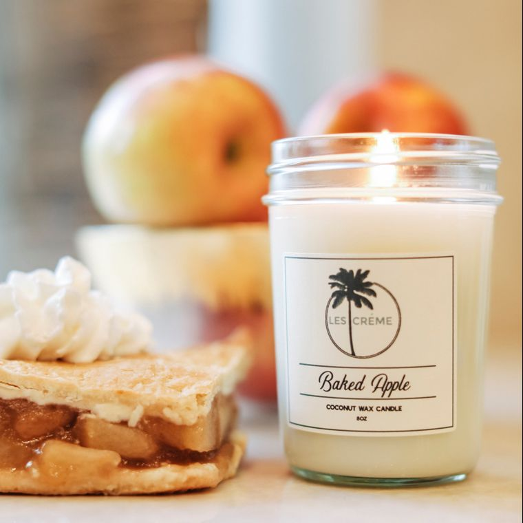 Holiday Baked Apple 8oz Candle