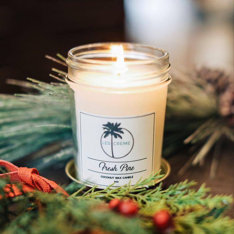 Holiday Fresh Pine 8oz Candle