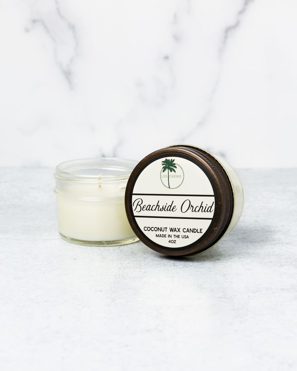 Beachside Orchid 4oz Candle