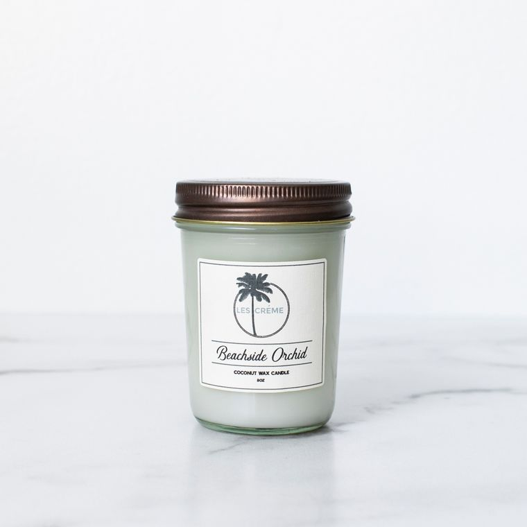 Beachside Orchid 8oz Candle