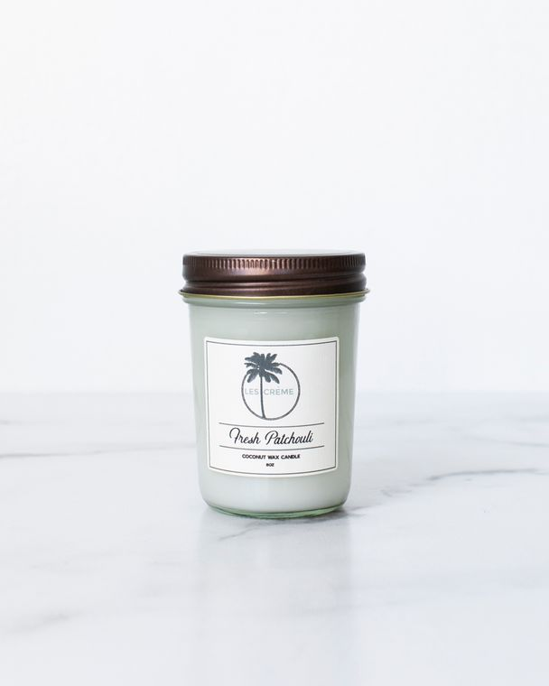 Fresh Patchouli 8z Candle