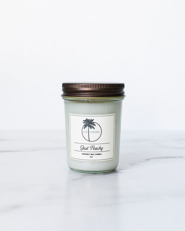 Just Peachy 8oz Candle