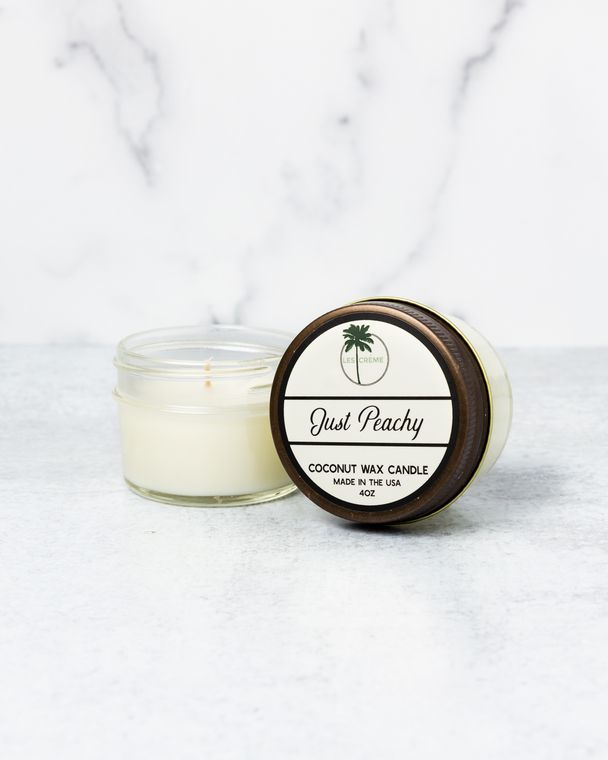 Just Peachy 4oz Candle