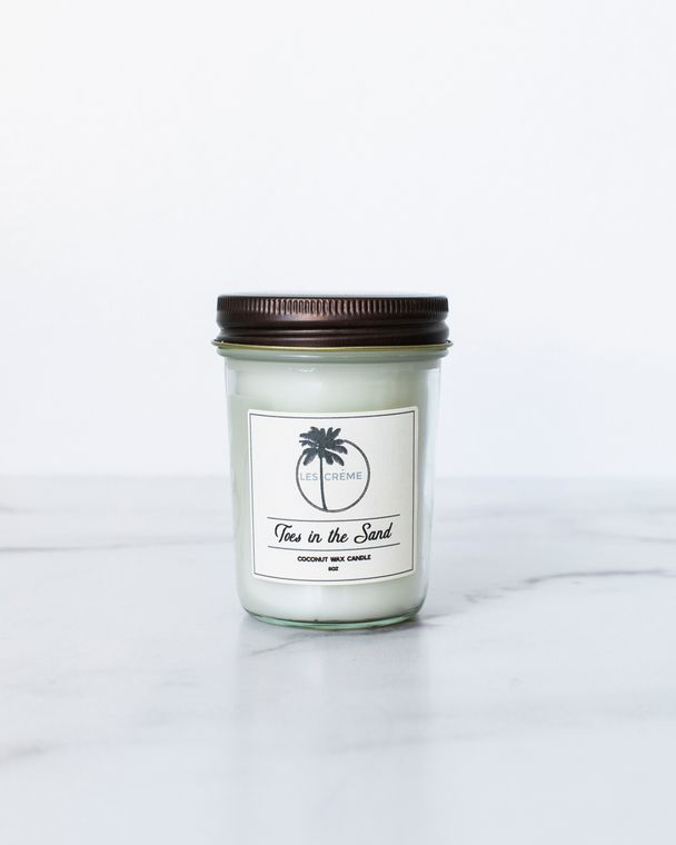 Toes in the Sand 8oz Candle