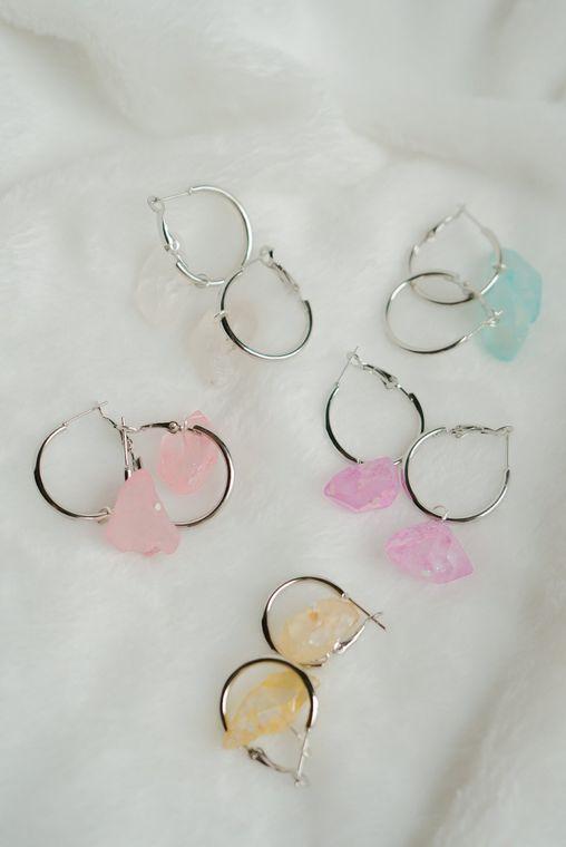 Emi Quartz Earrings