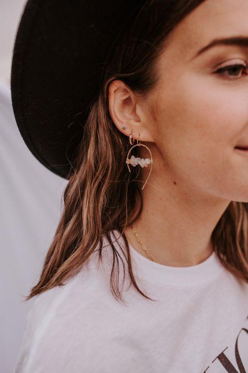 Golden Gate Earrings - 14k Gold Fill