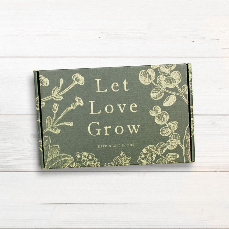 """Date Night In Box """"Let Love Grow"""""""