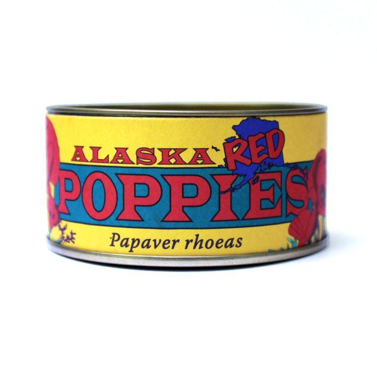 Alaska Red Poppy | Flower Seed Grow Kit | The Jonsteen Company