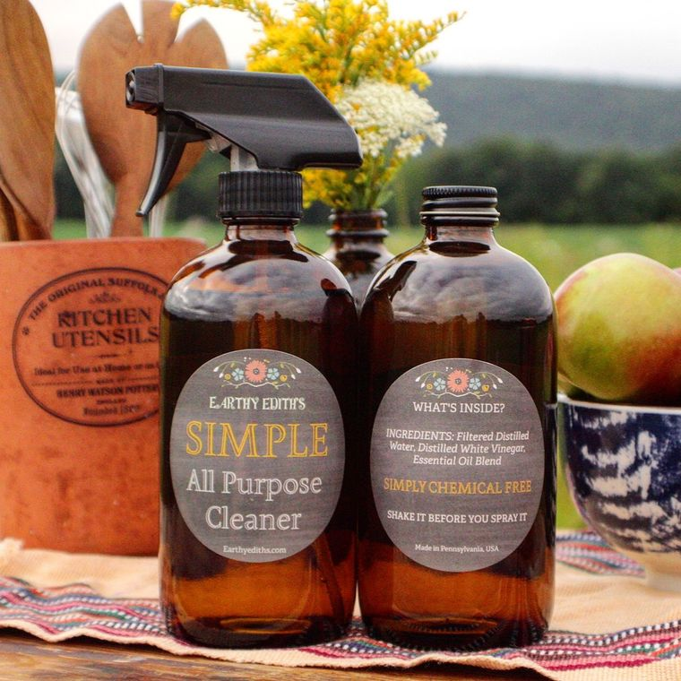 Earthy Ediths Simple All Purpose Cleaner