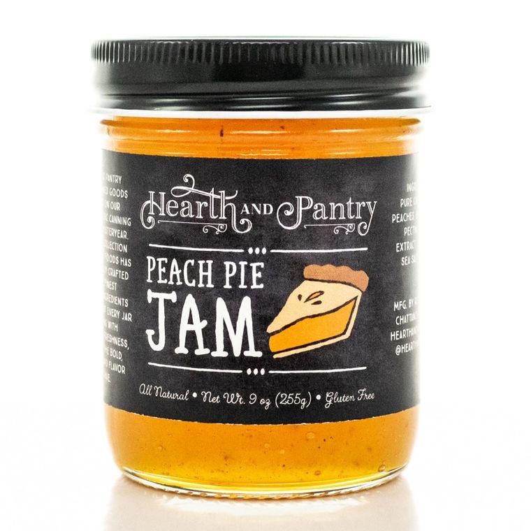 Hearth and Pantry Peach Pie Jam