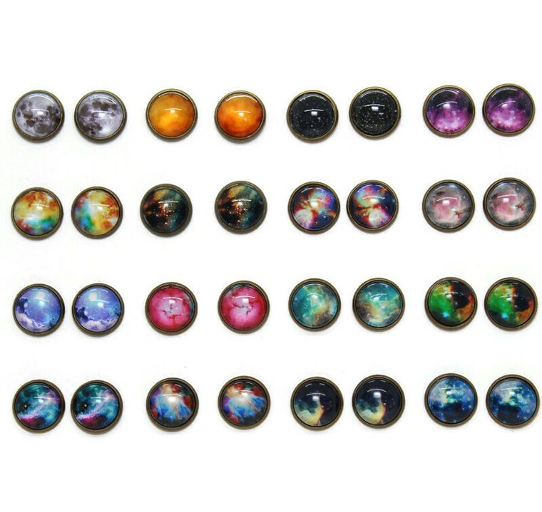 Galaxy Dome Earring Packs