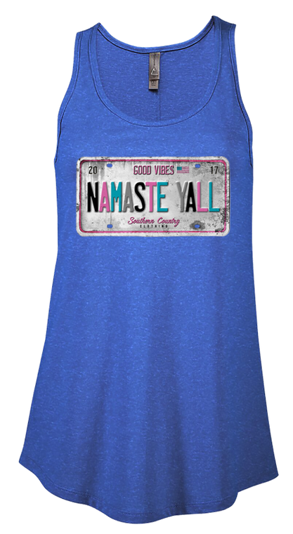 Namaste Yall Ladies Tank Top