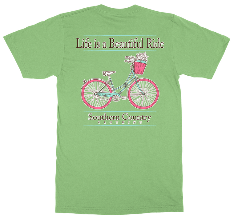 Life is Beautiful Enjoy the Ride Adult T-shirt