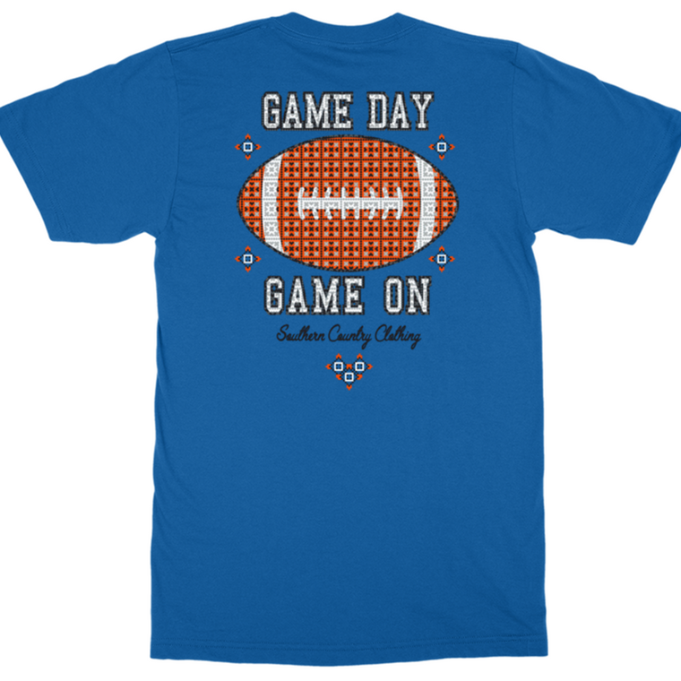 Game Day Game On Adult T-shirt
