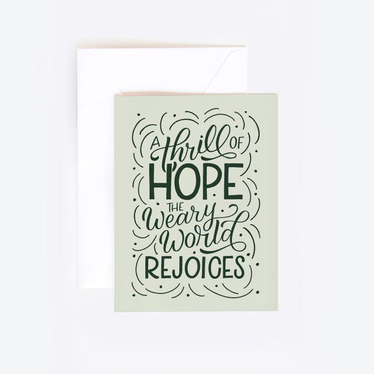 Christmas Hymn Card