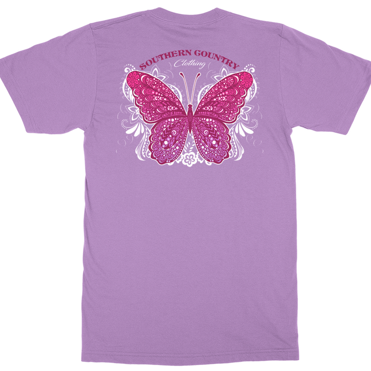 Butterfly Adult T-shirt