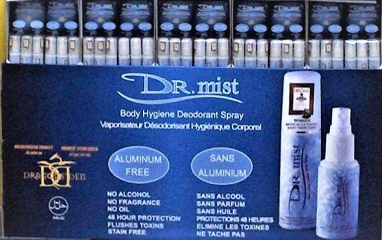 Dr. mist deodorant spray