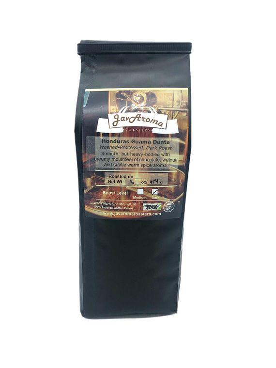 Honduras - Dark Roast (16oz)  Wholebean