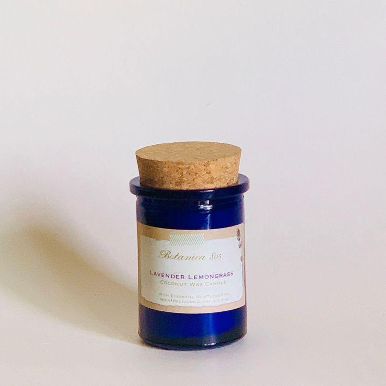 Lavender Lemongrass Coconut Wax Candle