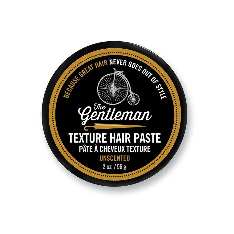 Hair Paste - Gentleman Unscented - 2 oz