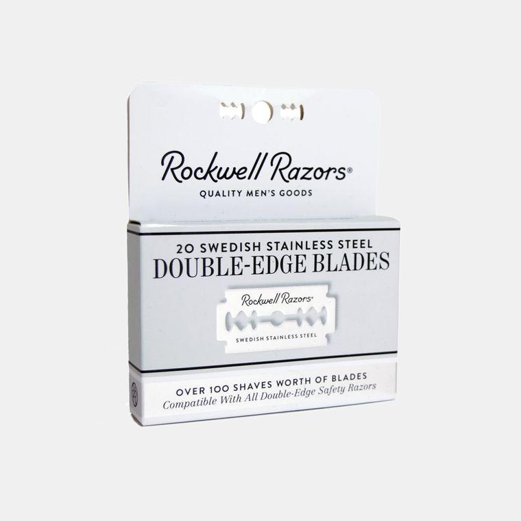 Rockwell Double-Edge Razor Blades (20-Pack)