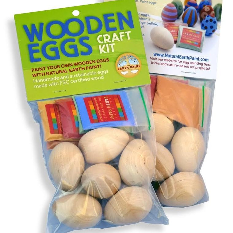 Wooden Egg Craft Kit