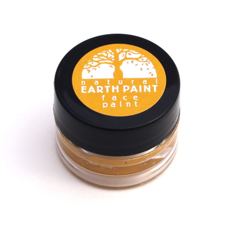 Yellow Face Paint  - Individual .4 oz jar