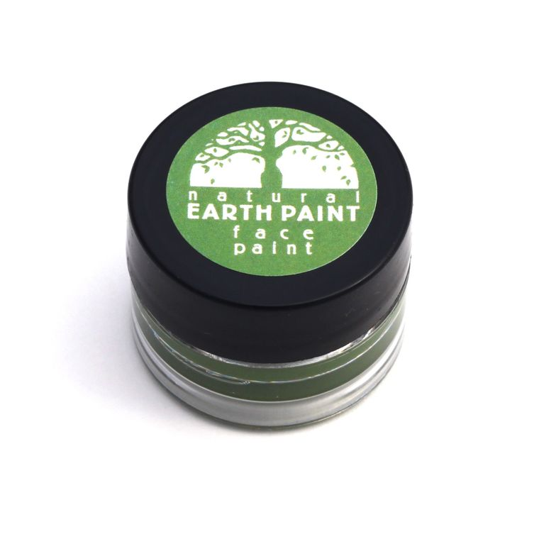 Green Face Paint  - Individual .4 oz jar